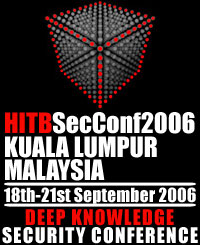 HITBSecConf06
